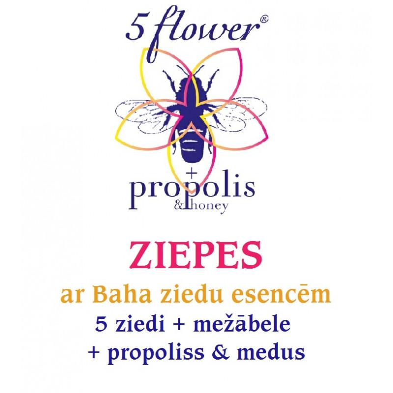 5 ziedu & propolisa ziepes, 50-60 g